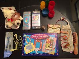 Bundle of craft/toys/pens etc