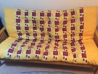 Original Futon company double futon / sofa bed good condition - Thatcham/Newbury