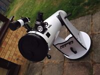 Sky Watcher 200p 8 inch Dobsonian Telescope in mint condition - Chelmsford
