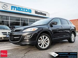 2012 Mazda CX-9 GT AT 7 SEATERS AWD LEATHER MOONROOF 18 ALLOY BO