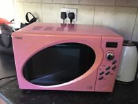 Pink microwave - collection only