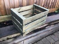 Decorative wooden crates