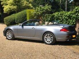 BMW 630i SE Convertible **Stunning Car**