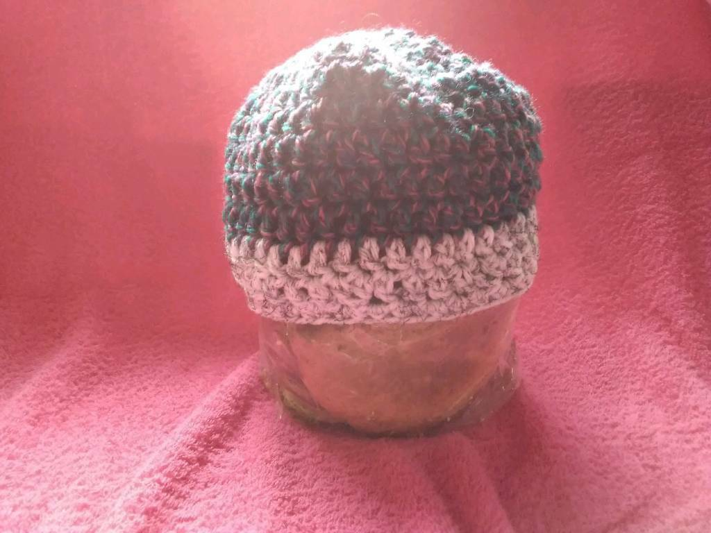 07a10eb9c1f Beanie crochet hat adult m L size very warm