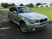 BMW X3 2.0 DIESEL M SPORT AUTOMATIC 2010 FULL LEATHER FULL HISTORY CLEAN CAR ...