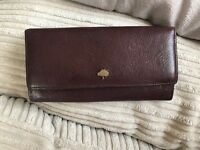 Mulberry purse in Oxblood