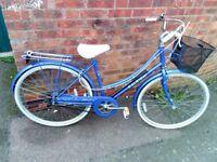 """ladies raleigh caprie bike 26"""" wheels"""