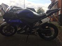 Yamaha YZF R125 2014 - 6300 miles