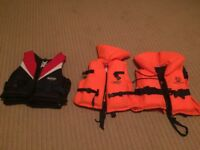 3 kids life jackets not toys