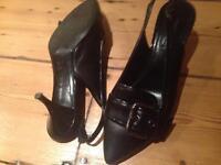 Genuine black Louis Vuitton heels