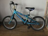 Child's up to age 7. Aluminium frame. Good working order.
