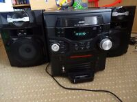 BUSH 5 CD RADIO STEREO (will deliver)