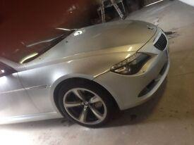 BMW 6 Series Bonnet E63 E64 Silver 2004-2011 630i 635d 650i 645i