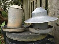 Poultry Feeder and Water Feeder