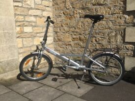 Compass Folding Bicycle £95 (Aluminium Frame)