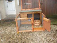 "rabbit hutch 48""wide robust germ free from £35.00 worth viewing 7days"