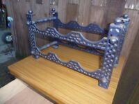 Blue Metal 6 Bottle Wine Rack Delivery Available £10