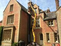 CHERRY PICKER ACCESS PLATFORM HIRE WITH OPERATOR.MEMBER OF( IPAF) AND INSURED.