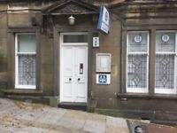 OFFICE PREMISES FOR SALE, EASILY CONVERTIBLE TO A 2 BED MAIN DOOR FLAT.