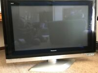 Panasonic 42 Inch Plasma TV: Model No. TH-42PV500B Complete with Swivel Stand