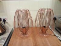 Copper Table Lamps