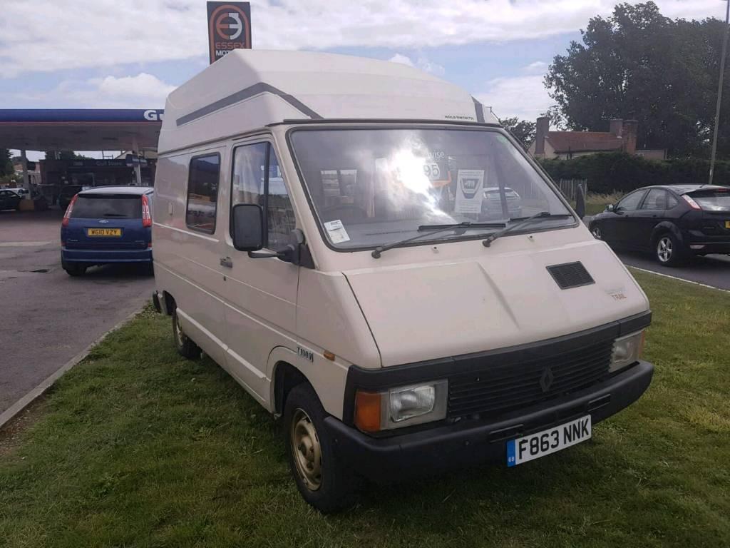 Renault camper van in great condition 90.000 miles
