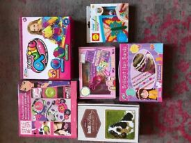 Bundle of kids craft, suit girls aged 6 and above, all as new.