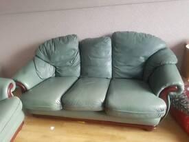 Sofa and an armchair