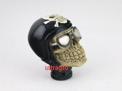 Univsersal JDM Car Truck Custom Harley Helmet Skull Shift knob shifter gear knob Custom Shifter Knobs