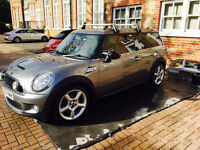 Graphite Grey Mini Cooper S Clubman Automatic with gear padles Low millage Chilli pack