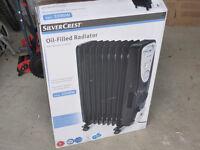 Oil filled radiator 9 Fin 2500W in original box