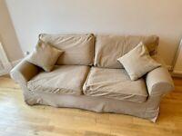Ikea ektorp 2 seater sofa and sofabed