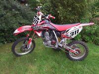 Honda crf 150r 2009 Motocross bike