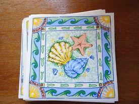 Permanent Ceramic Tile Decoration