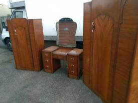 Wardrobes and dressing table set