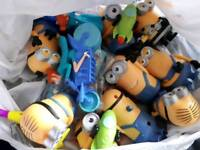 Minions car boot toys lot resale
