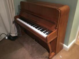 Beautiful British Oak Piano