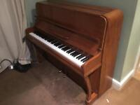 Beautiful British Oak Piano
