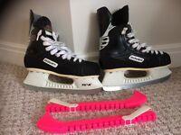 Bauer ice hockey skates size 5