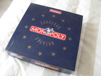 Monopoly European Edition. Waddingtons 1991. Never Played.