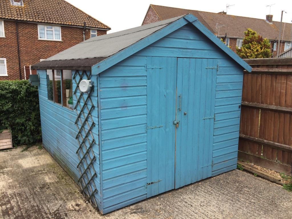 10 X 8 Shed Shiplap Sold In Eastleigh Hampshire