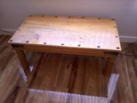 COFFEE TABLE (with metal trimming)