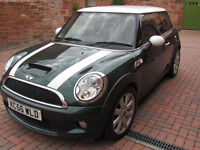2007 (R56) Mini Cooper S in British Racing Green with Chili pack - Stunning