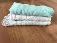 Aden and anais bamboo swaddle pack of 3