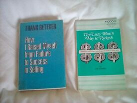 The lazy mans way to riches and frank bettger success in sales self improvement guides