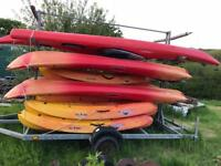 Various Kayaks for sale