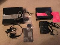 Accutone headset and amplifier - Boxed - New items