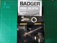 Badger 200-20 single action airbrush