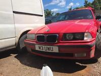 Bmw e36 325i m50 coupe hellrot red mot spares repair