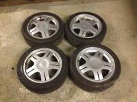 Ford Rs 2000 alloys with tyres fiesta escort Orion etc